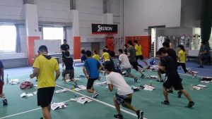 adidas Functional Training更新研修の様子